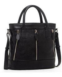 Susu - Crosby Leather Crossbody Black Tote - Lyst
