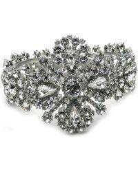 Otazu - Swarovski Crystal Dressy Cuff - Lyst