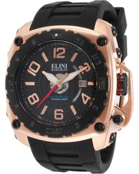Elini Barokas - The General Black Silicone And Dial Rose-tone Case - Lyst
