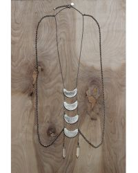 Love Leather - Many Moons Body Chain - Lyst