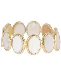 Vanhi - White Diamond And 14k Gold Id Ring - Lyst