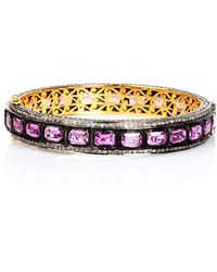 Socheec - Sapphire And Diamond Bracelet - Lyst