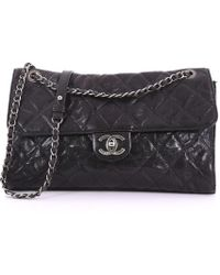 6419a0694a49da Chanel - Pre Owned Cc Crave Flap Bag Quilted Glazed Caviar Jumbo - Lyst