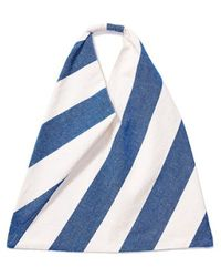 Kule - Canvas Tote Bag With Stripes - Lyst