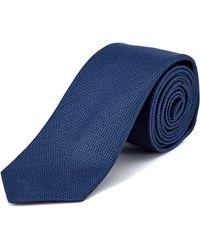 W.r.k. - W.r.k Blue Gregor Silk Tie - Lyst