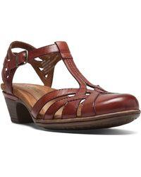 Cobb Hill - Women's Aubrey T-strap Sandals - Lyst