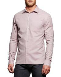 Boga - Broadcloth Modern Fit Casual Shirt - Lyst