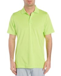 Fairway & Greene - Solid Tech Polo Shirt - Lyst