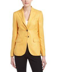 ESCADA | Cashmere & Silk-blend Blazer | Lyst