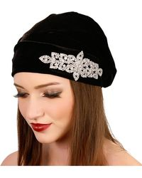 Kristin Perry - Crystal Slouch Beanie - Lyst