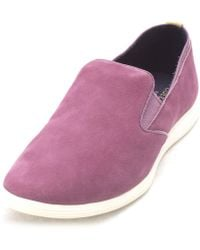 Cole Haan - Womens Musettesam Low Top Slip On Fashion Sneakers - Lyst
