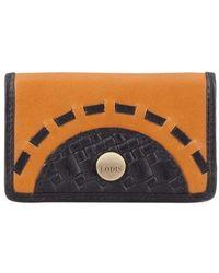 Lodis - Women's Rodeo Woven Rfid Mini Card Case - Lyst