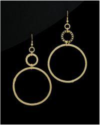 1AR By Unoaerre - 18k Plated Drop Earrings - Lyst