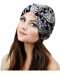 Kristin Perry - Metallic Crystal Turban - Lyst