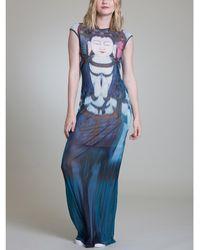 Vivienne Tam - Buddha Maxi Dress - Lyst