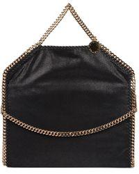Stella McCartney - Women's Black Polyester Handbag - Lyst