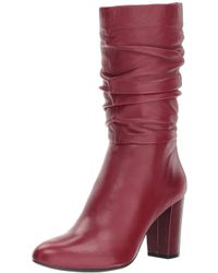 Anne Klein - Women's Nysha Leather Fashion Boot - Lyst