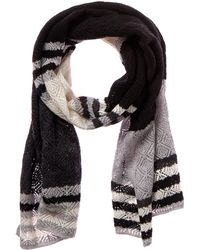 Magaschoni - Color Blocked Cashmere Shawl - Lyst