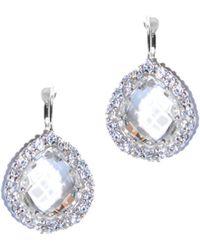Anzie - Royale Silver 12.60 Ct. Tw. Topaz Earrings - Lyst