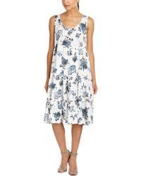 Mystree - Floral Midi Dress - Lyst