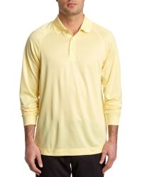 Cutter & Buck - Powell Cb Drytec Pale Yellow Polo - Lyst