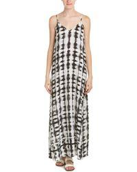Fifteen Twenty - Double 'v' Maxi Dress - Lyst