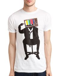 Arka - Change The Channel Tee - Lyst
