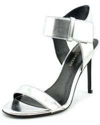 Enzo Angiolini - Brodee Open Toe Synthetic Sandals - Lyst