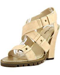 Michael Antonio - Jacquee Women Open Toe Synthetic Sandals - Lyst