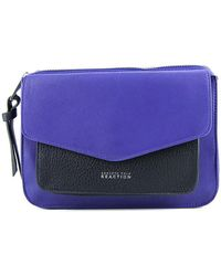 Kenneth Cole Reaction - Easy Peasy Women Leather Messenger Nwt - Lyst