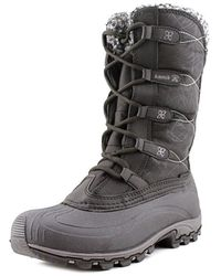 Kamik - Fortress Round Toe Canvas Snow Boot - Lyst