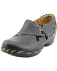Softspots - Helen Women Round Toe Leather Clogs - Lyst