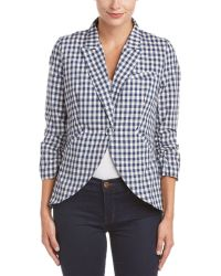 Esley - Collection Gingham Blazer - Lyst