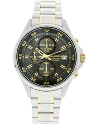 Seiko - Sks631 Silver Stainless-steel Japanese Chronograph Fashion Watch - Lyst