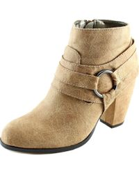 Michael Antonio - Martina Women Round Toe Synthetic Ankle Boot - Lyst