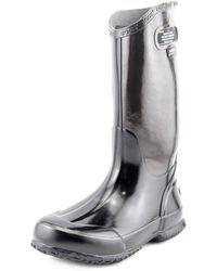 Bogs - Classic Rainboot Women Round Toe Synthetic Rain Boot - Lyst