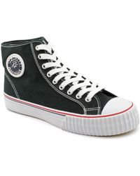 PF Flyers - Centre Hi Reiss Round Toe Canvas Trainers - Lyst