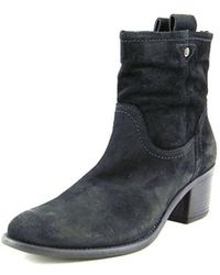Andre Assous - Farah Women Round Toe Suede Ankle Boot - Lyst