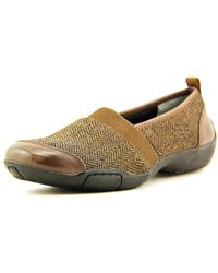 Ros Hommerson - Carol N/s Round Toe Synthetic Loafer - Lyst