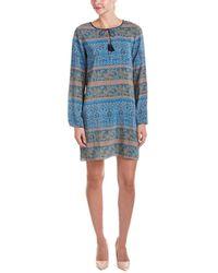 Calypso St. Barth - St. Barth Eruca Silk Shift Dress - Lyst
