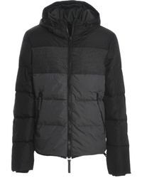 Duvetica - Men's Black Polyamide Down Jacket - Lyst