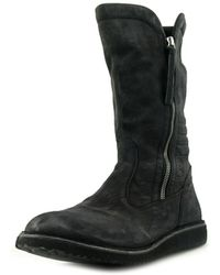 BB Washed by Bruno Bordese - Philadelphia Men Leather Black Mid Calf Boot - Lyst