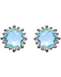 Anzie - Dew Drop Silver 8.40 Ct. Tw. Topaz Drop Earrings - Lyst
