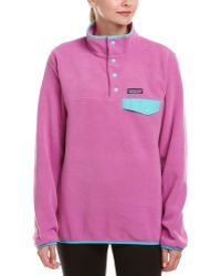 Patagonia - ? Lightweight Synchilla Snap-t Pullover - Lyst