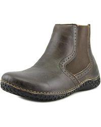 Alegria - Jony Round Toe Leather Ankle Boot - Lyst