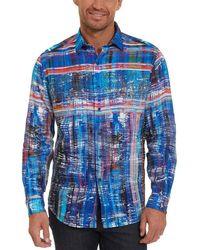 Robert Graham - Calabasas Classic Fit Linen Woven Shirt - Lyst