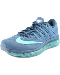 Nike - Air Max 2016 Round Toe Synthetic Running Shoe - Lyst