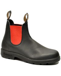 Blundstone - Men's Black Leather Ankle Boots - Lyst