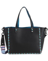 Inzi - Studded Tote With Guitar Strap - Lyst