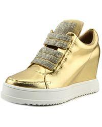 Mojo Moxy - Hooky Round Toe Synthetic Sneakers - Lyst
